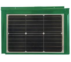 Ngói năng lượng mặt trời - màu xanh lá